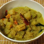 Chayote Pear Gravy Curry