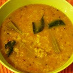 Moong Dal-Drumstick Soup