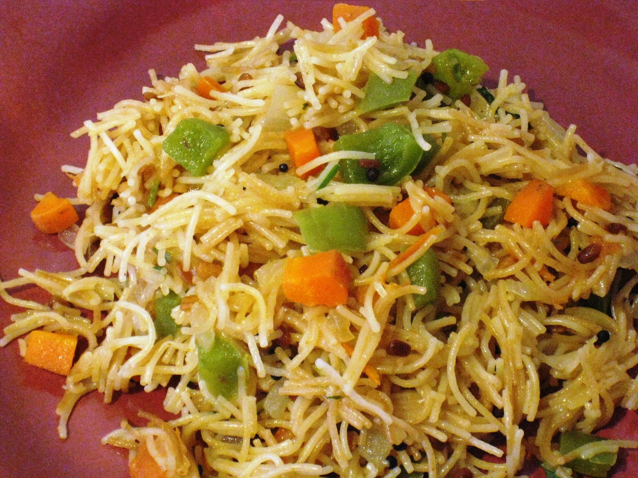 Vegetable vermicelli upma vegrecipes4u vegetable vermicelli upma forumfinder Choice Image