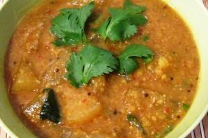 Ash-Gourd Sambar