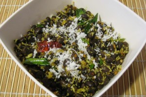 Black Beans with Coconut