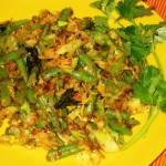 Cabbage-Beans Curry