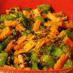Carrot-Bell-Pepper Curry