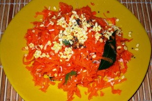 Carrot-Moong Salad
