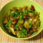Cauliflower-Bell-Pepper Curry