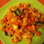 Cauliflower-Carrot Curry
