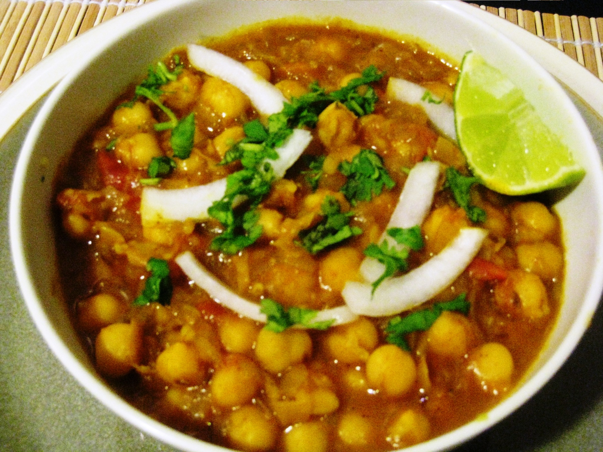 Chana Masala | vegrecipes4u.com