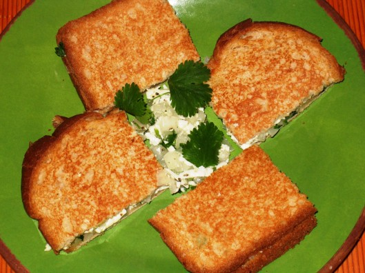 cheesy grilled bread