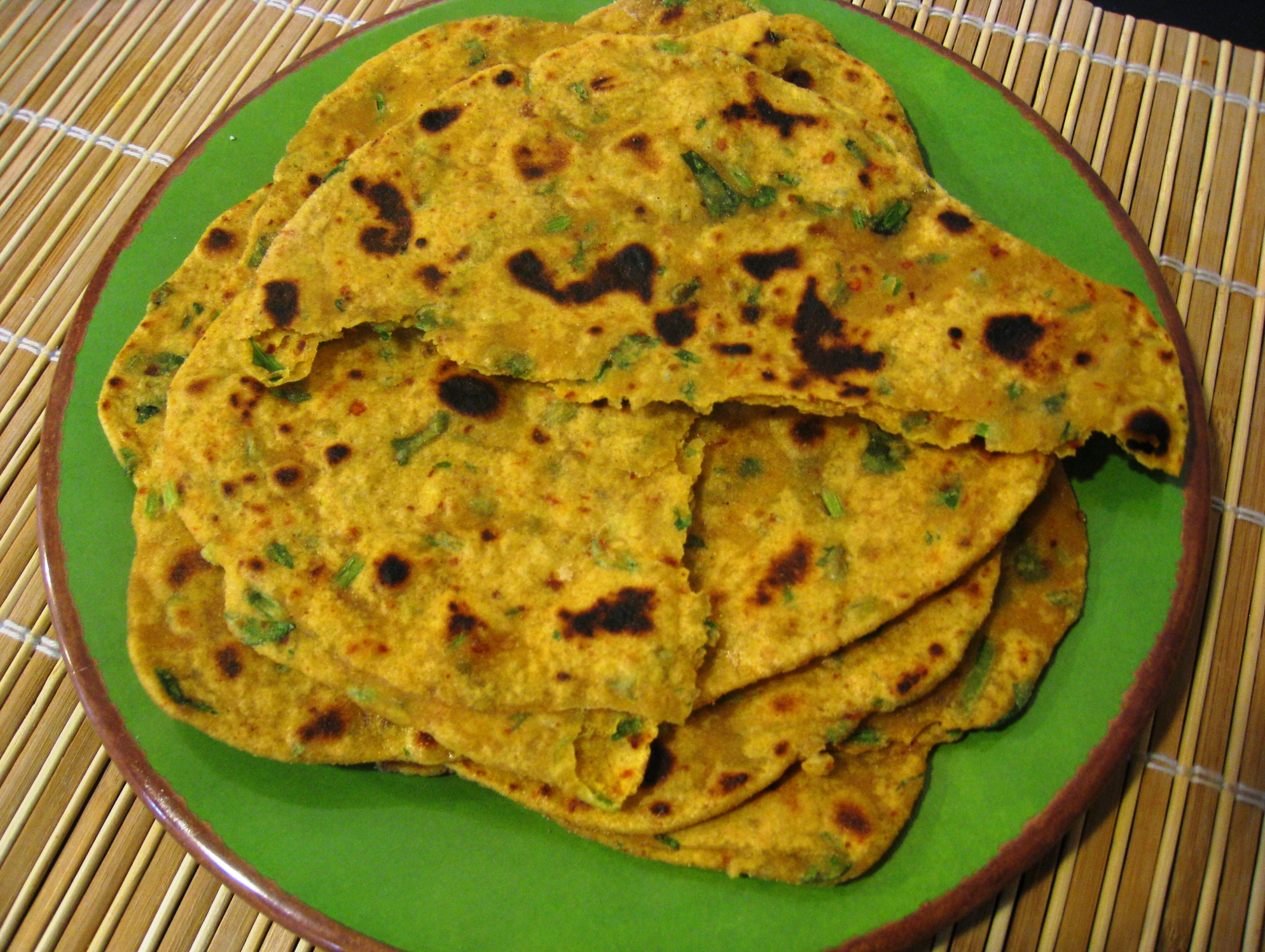 Mixed Flour & Root Vegetables Paratha/Flatbread Recipes — Dishmaps