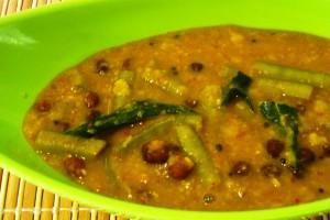Cluster Beans Kootu