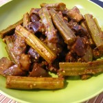 Eggplant-Drumstick Curry