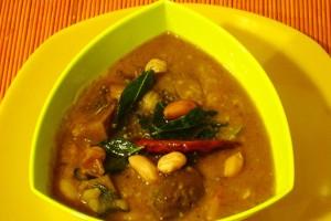 Eggplant Kootu