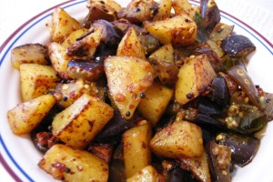 Eggplant-Potato Curry