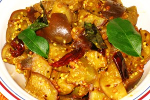 Eggplant-Tamarind Curry