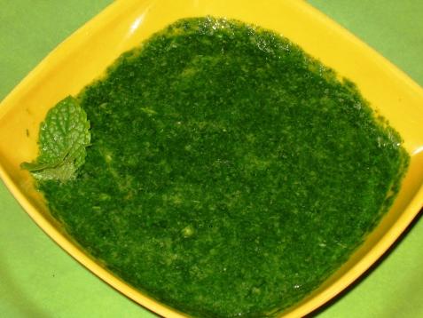 green-chutney for sandwich