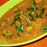 Karela-Potato Gravy Curry