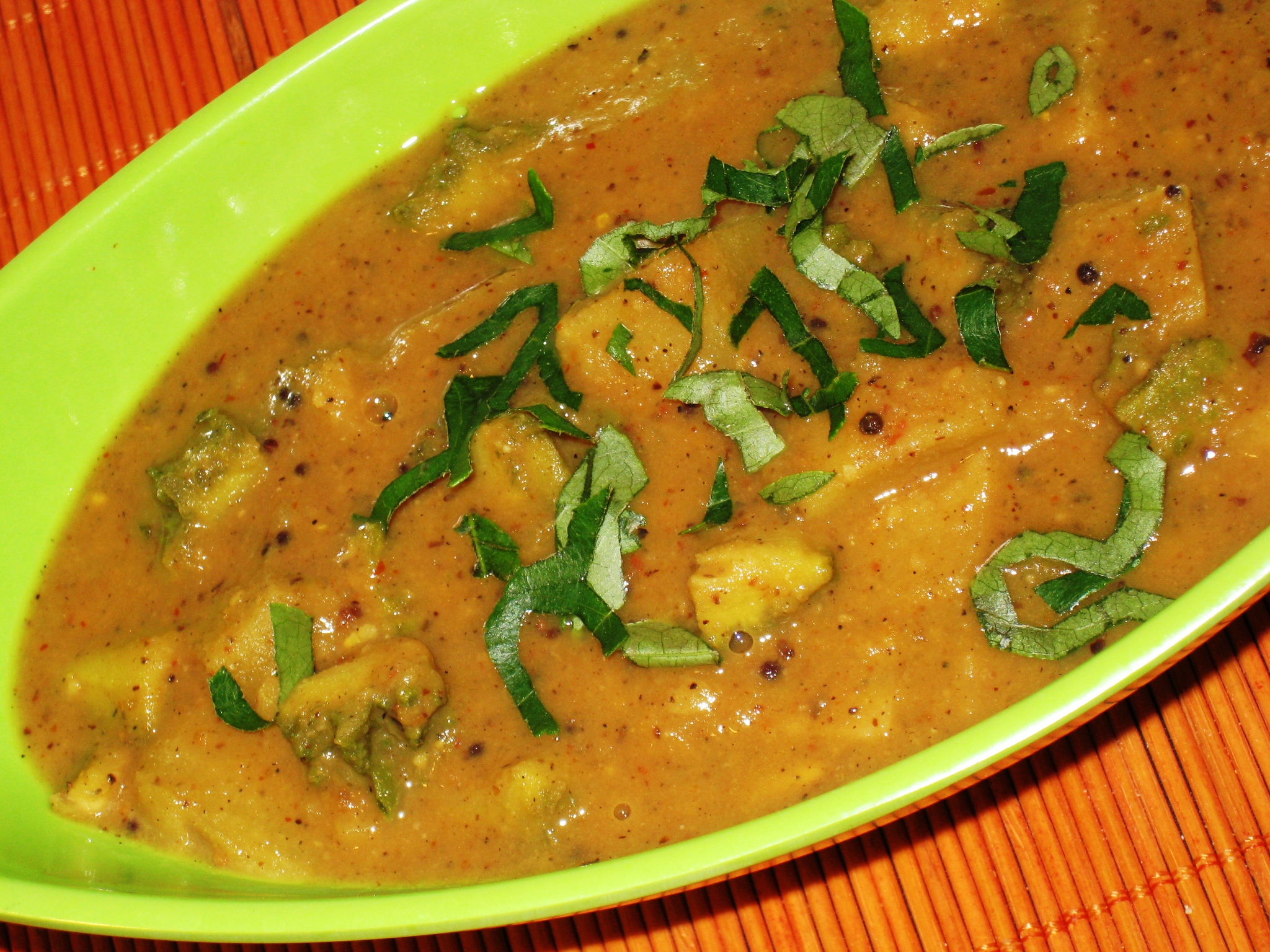 Karelapotato Gravy Curry