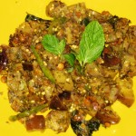 Minty Eggplant Curry