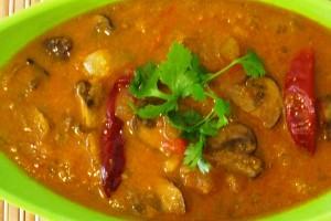 Mushroom Gravy Curry