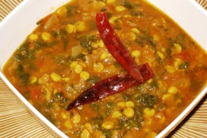 Palak-Dal Curry