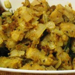 Plantain-Onion Curry