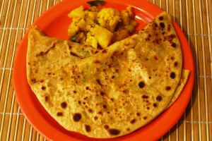 Potato-Cauliflower Paratha