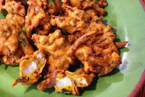 Potato-Onion Pakoda