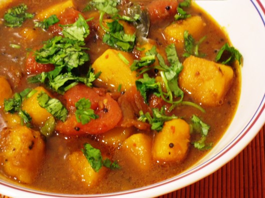 pumpkin-gravy curry