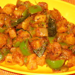 Radish-Bell-Pepper Curry