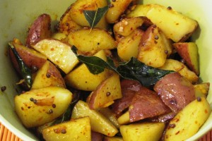 Russet Potato Curry