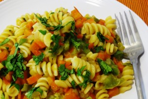Spicy Vegetable Pasta