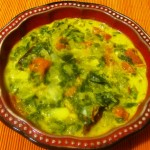 Spinach Gravy Curry