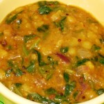 Spinach-Onion Kootu