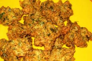 Spinach Pakoda