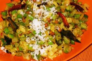 Tindora-Onion Soft Curry