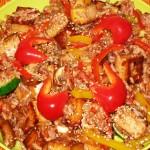 Tofu-Rice Stir-Fry