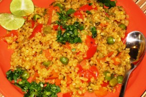 Wheat Rava with Veggies
