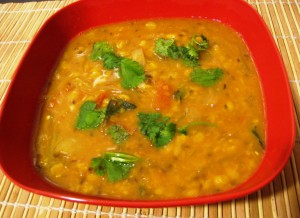yellow-lentil soup
