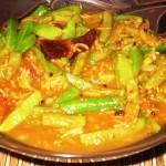 Tindora-Tomato Gravy Curry