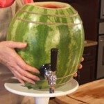 How to Carve a Watermelon Keg