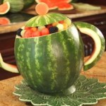 How to Carve a Watermelon Teapot