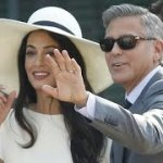 George Clooney and Amal Alamuddin are Legally Married after Civil Ceremony