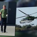Harrison Ford Takes His $2.6 Million Dollar Helicopter for a Spin