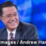 Stephen Colbert Says Goodbye to TV, for Now