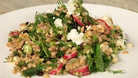 Eat Clean: Farro with Radishes and Herb