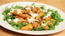 Eat Clean: Roasted Baby Carrots with Coriander Yogurt