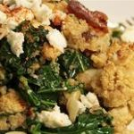 Healthy Roasted Cauliflower Salad with Winter Leaves