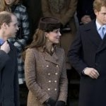 Pregnant Kate Middleton Joins Royal Family at Christmas Church Service, Apologizes for Not Bringing Prince George