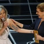 "Lady Gaga Gushes over Her ""Magical"" Oscars Performance with Julie Andrews: ""I Started Crying"