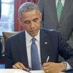 Between Two Mirrors, Obama Touts Health Law Sign-Up